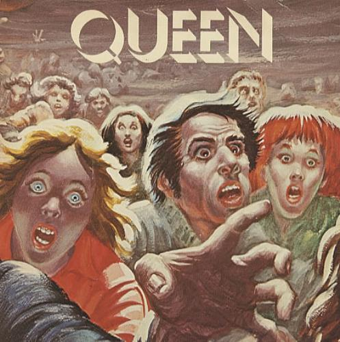 "Queen Spread Your Wings - p/s 7"" vinyl single (7 inch record) UK QUE07SP12711"