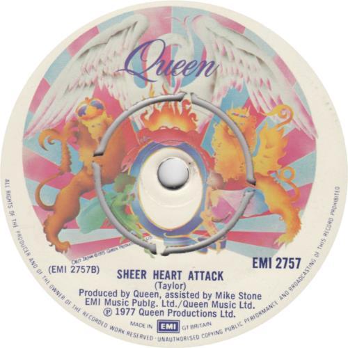 "Queen Spread Your Wings 7"" vinyl single (7 inch record) UK QUE07SP604409"
