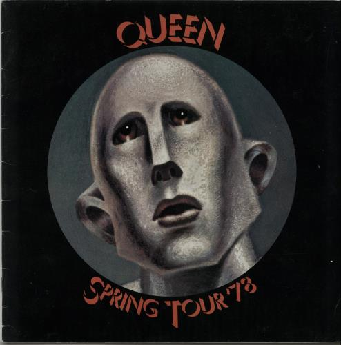 Queen Spring Tour '78 - Ex tour programme UK QUETRSP143365