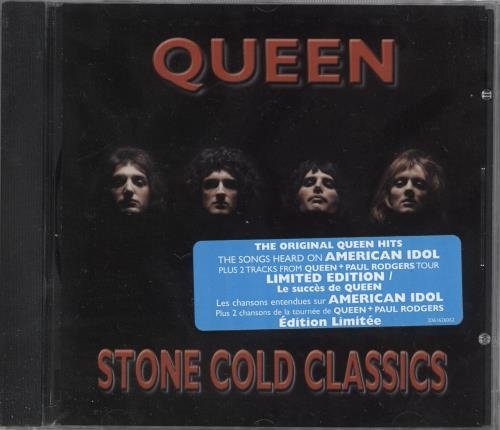 Queen Stone Cold Classics CD album (CDLP) Canadian QUECDST360825
