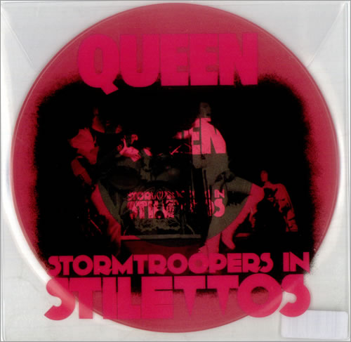 "Queen Stormtroopers In Stilettos - Pink Vinyl 7"" vinyl single (7 inch record) US QUE07ST538963"