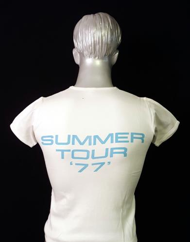 Queen Summer Tour 1977 + T-Shirt tour programme UK QUETRSU656276