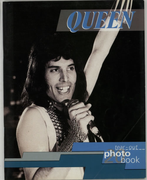 Queen Tear Out Photo Book book UK QUEBKTE80450