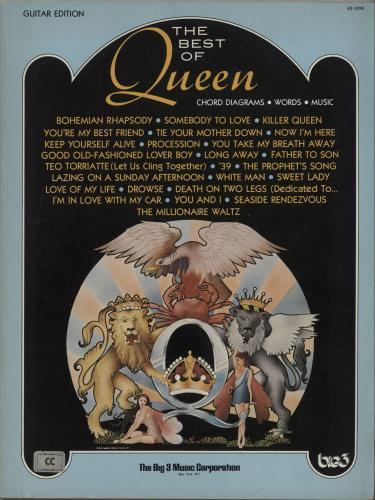 Queen The Best Of Queen US book (673374) B3-3099