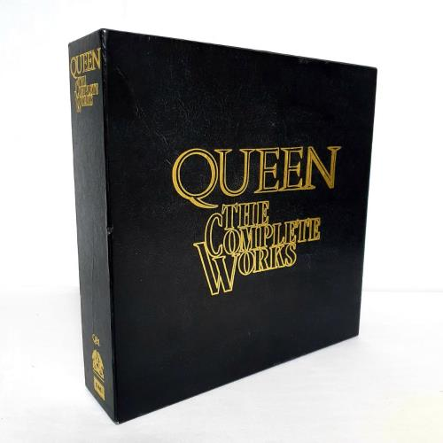 Queen The Complete Works - Complete box set UK QUEBXTH20244