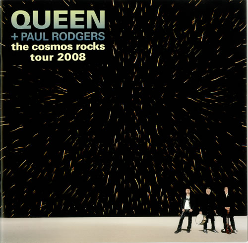 Queen The Cosmos Rocks tour programme UK QUETRTH452255