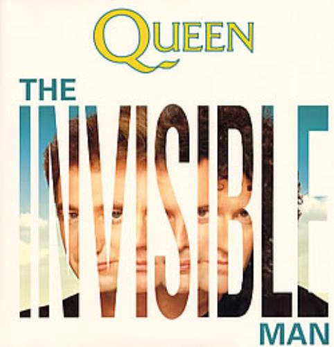 "Queen The Invisible Man 12"" vinyl single (12 inch record / Maxi-single) UK QUE12TH11300"