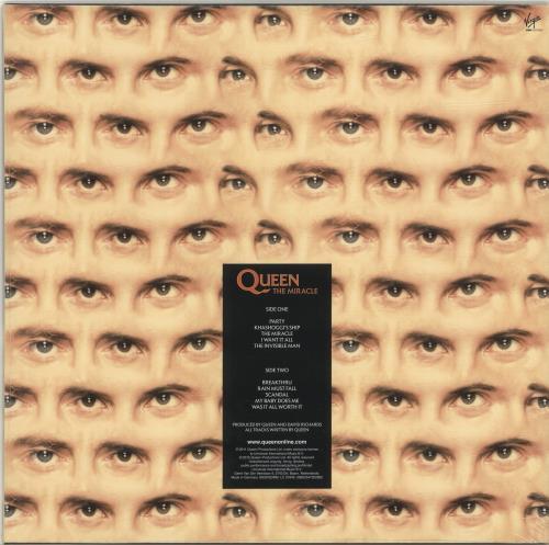 Queen The Miracle - 180 Gram vinyl LP album (LP record) UK QUELPTH686970