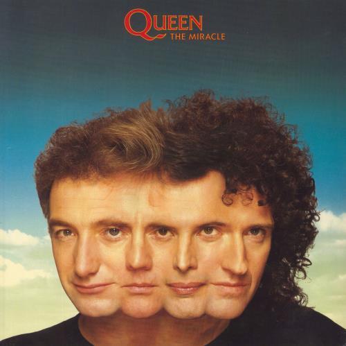 Queen The Miracle - EX vinyl LP album (LP record) UK QUELPTH576701