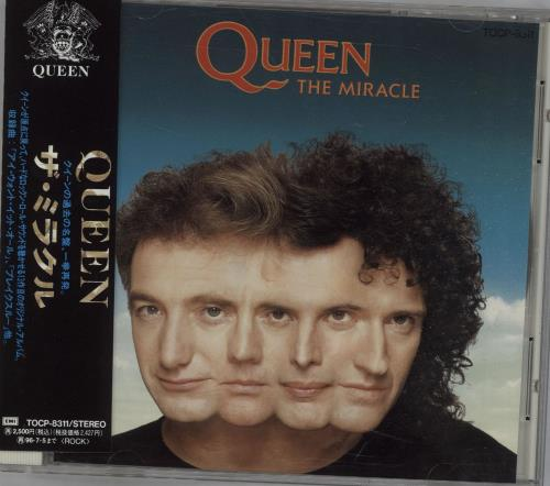 Queen The Miracle CD album (CDLP) Japanese QUECDTH28616
