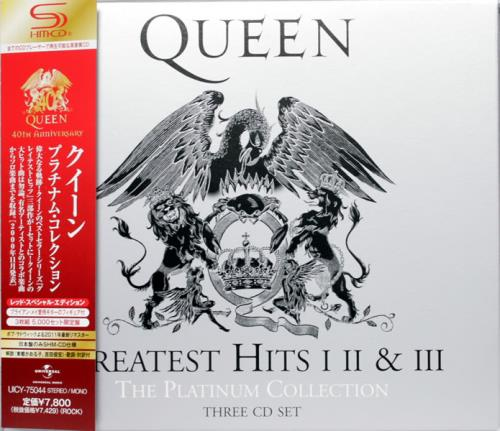 Queen The Platinum Collection Greatest Hits I Ii Amp Iii