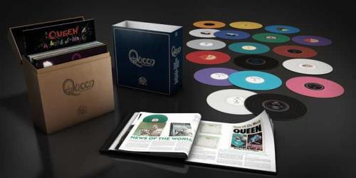 Queen The Queen Studio Collection - Coloured Vinyl Vinyl Box Set UK QUEVXTH724802