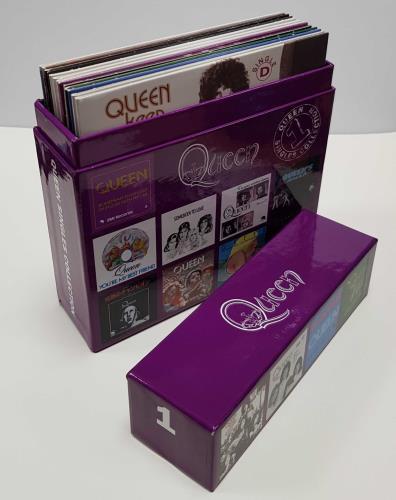 Queen The Singles Collection [Volume 1] CD Single Box Set UK QUECXTH646339