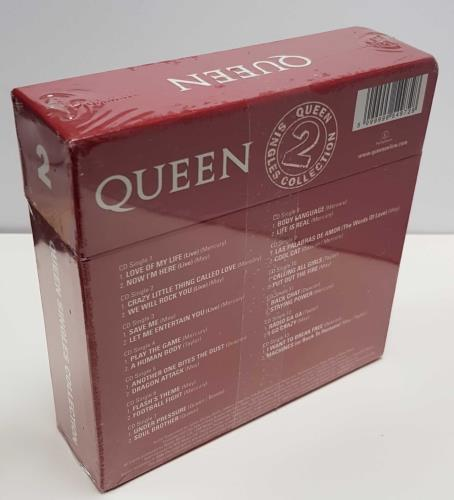 """Queen The Singles Collection [Volume 2] - Sealed CD single (CD5 / 5"""") UK QUECXTH470412"""