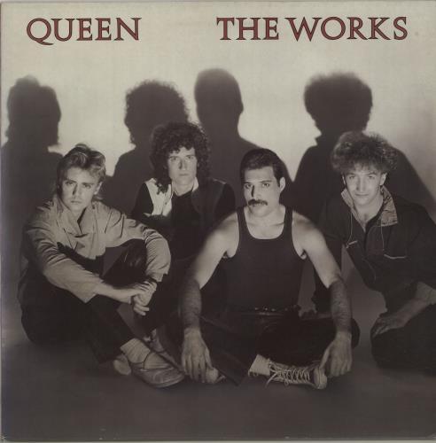 Queen The Works - EX vinyl LP album (LP record) UK QUELPTH214449