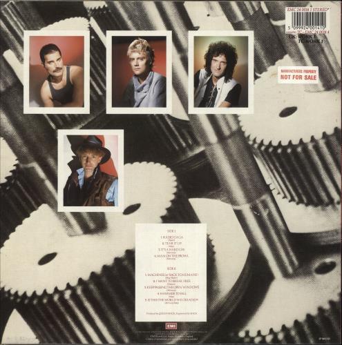 Queen The Works - Factory Sample vinyl LP album (LP record) UK QUELPTH531165