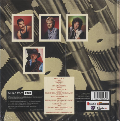 Queen The Works - Sealed CD album (CDLP) Polish QUECDTH463642