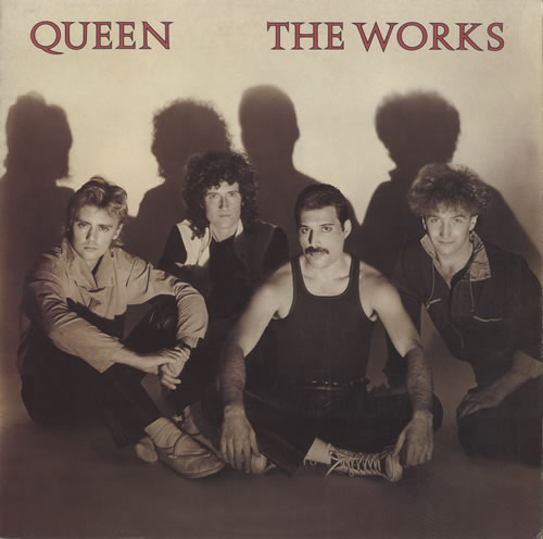 Queen The Works vinyl LP album (LP record) UK QUELPTH469649