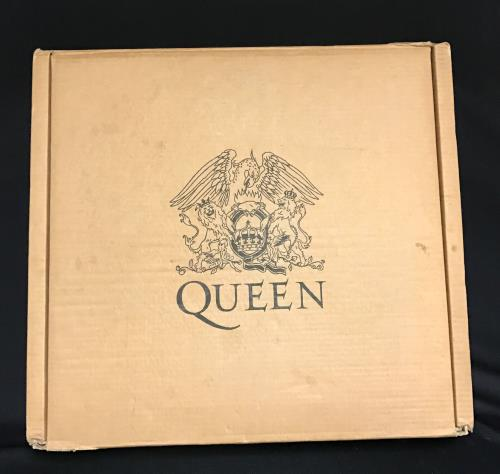 Queen Ultimate Queen - EX + Crest Logo Outer box box set UK QUEBXUL665929