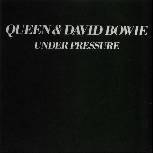 "Queen Under Pressure - 4pr + p/s 7"" vinyl single (7 inch record) UK QUE07UN29684"