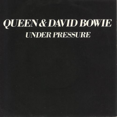 "Queen Under Pressure - 4pr - P/S 7"" vinyl single (7 inch record) UK QUE07UN648289"