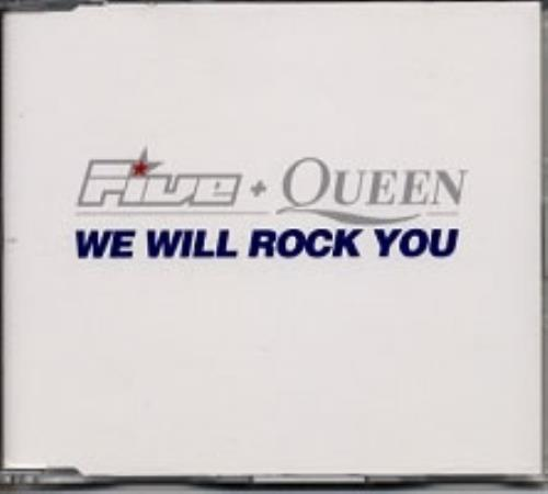 "Queen We Will Rock You CD single (CD5 / 5"") UK QUEC5WE160670"