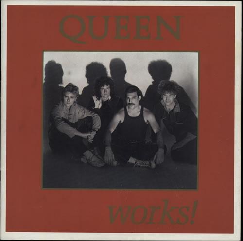 Queen Works! + Ticket Stub tour programme UK QUETRWO592178