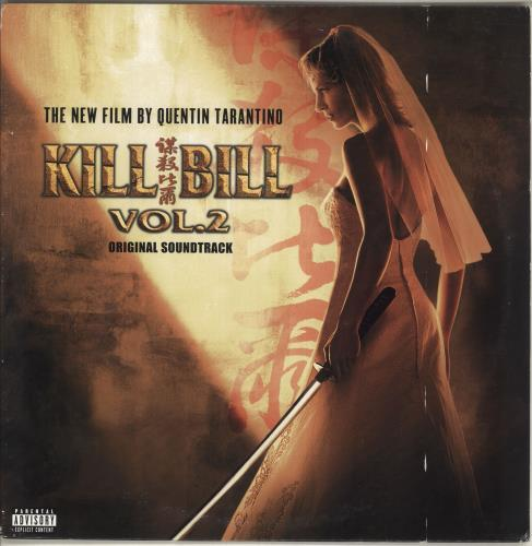 Quentin Tarantino Kill Bill Vol. 2 (Original Soundtrack) - EX vinyl LP album (LP record) US QUNLPKI718941