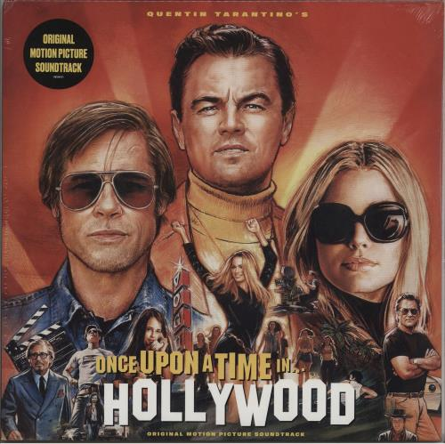 Quentin Tarantino Once Upon A Time In Hollywood - Sealed 2-LP vinyl record set (Double Album) UK QUN2LON752272