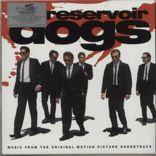 Quentin Tarantino Reservoir Dogs - 180gm - Red Vinyl vinyl LP album (LP record) UK QUNLPRE674588