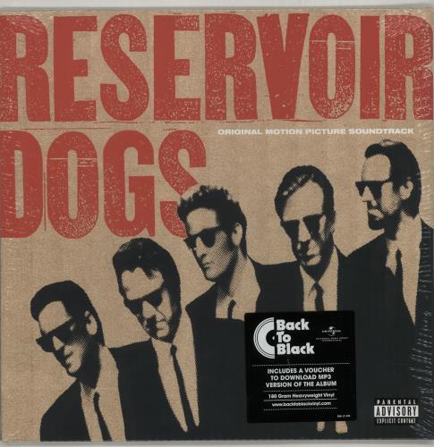 Quentin Tarantino Reservoir Dogs - Black Friday/Record Store Day 2015 vinyl LP album (LP record) German QUNLPRE645339