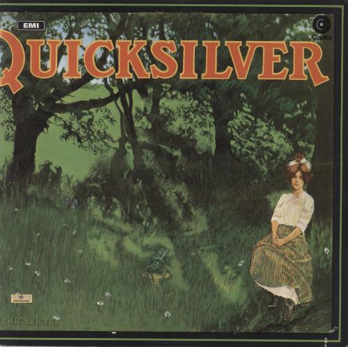 Quicksilver Messenger Service Shady Grove - Non laminated - EX vinyl LP album (LP record) UK QMSLPSH640246