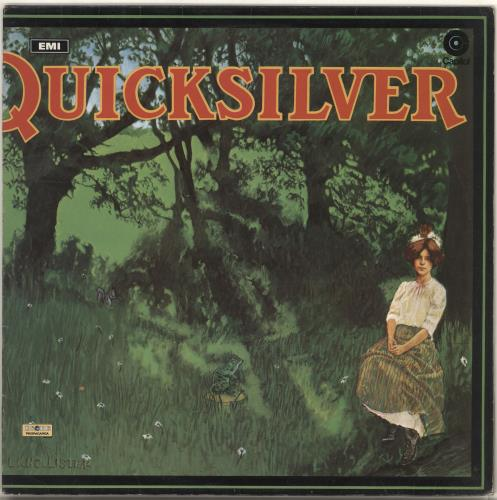 Quicksilver Messenger Service Shady Grove - peach label vinyl LP album (LP record) UK QMSLPSH713672