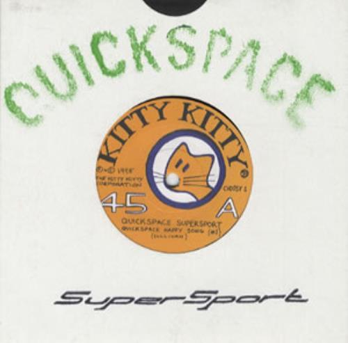 "Quickspace Supersport Quickspace Happy Song 7"" vinyl single (7 inch record) UK QUC07QU317061"