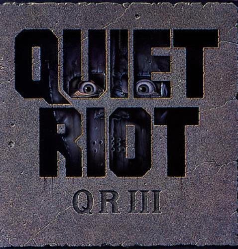 Quiet Riot QR III vinyl LP album (LP record) UK QRTLPQR288246