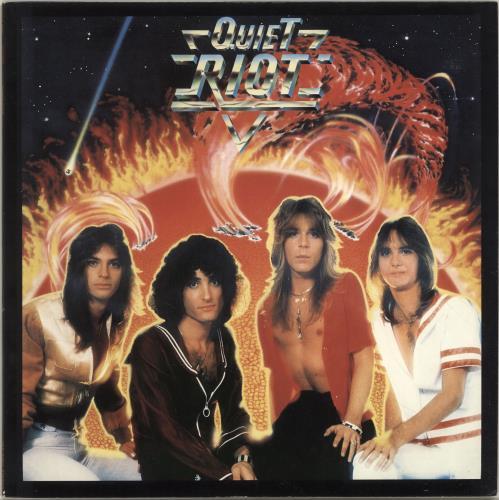 Quiet Riot Quiet Riot vinyl LP album (LP record) Japanese QRTLPQU325233