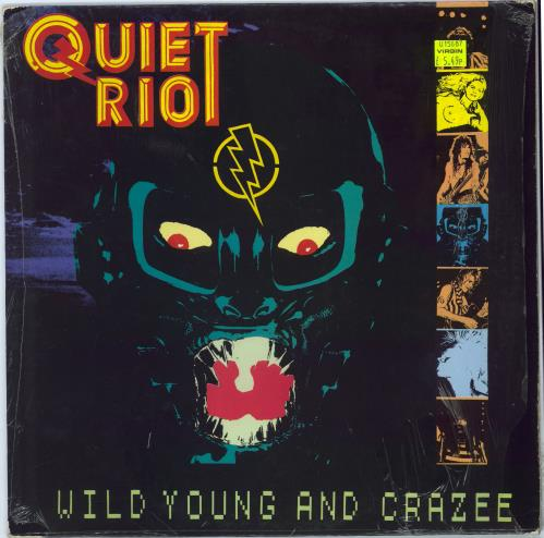 Quiet Riot Wild Young And Crazee vinyl LP album (LP record) UK QRTLPWI602729
