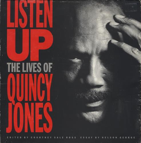 Quincy Jones Listen Up - The Lives Of Quincy Jones book UK QUJBKLI364090
