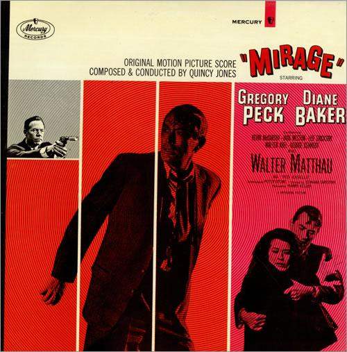 Quincy Jones Mirage vinyl LP album (LP record) UK QUJLPMI474826