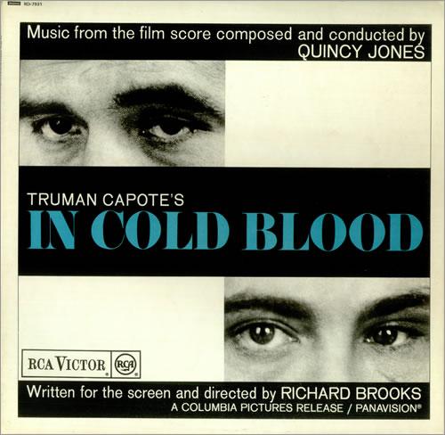 Quincy Jones Music From The Film 'In Cold Blood' vinyl LP album (LP record) UK QUJLPMU450018