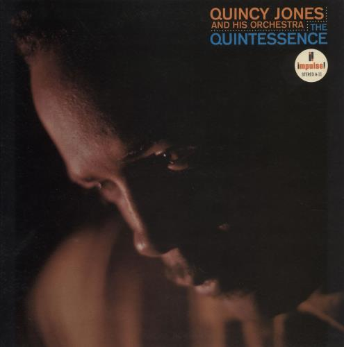 Quincy Jones The Quintessence vinyl LP album (LP record) US QUJLPTH532190