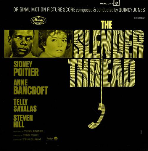 Quincy Jones The Slender Thread vinyl LP album (LP record) UK QUJLPTH474838