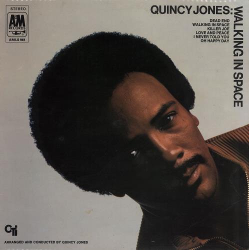 Quincy Jones Walking In Space vinyl LP album (LP record) UK QUJLPWA474802