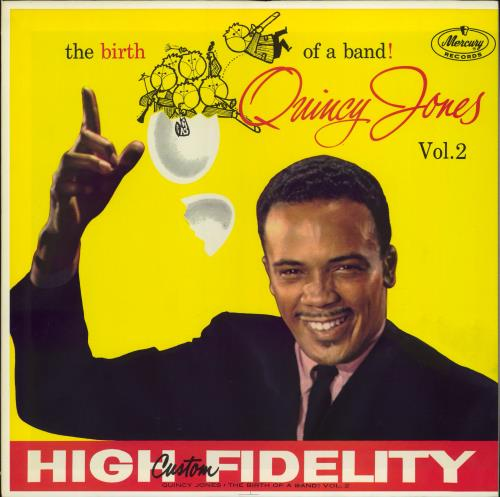 Quincy Jones The Birth Of A Band Vol. 2 vinyl LP album (LP record) Japanese QUJLPTH361925