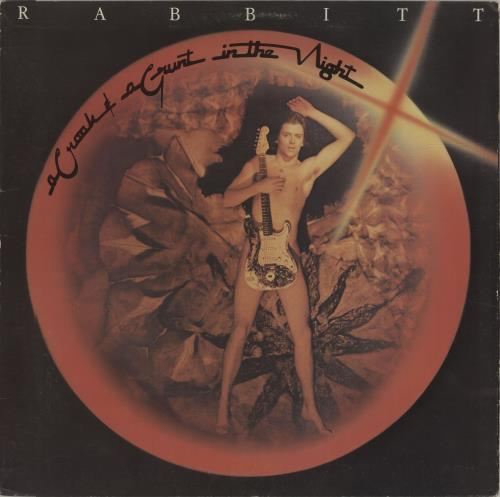 Rabbitt A Croak & A Grunt In The Night vinyl LP album (LP record) South African TA3LPAC679528