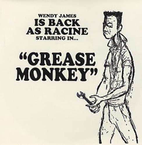 "Racine Grease Monkey 7"" vinyl single (7 inch record) UK RCV07GR320565"