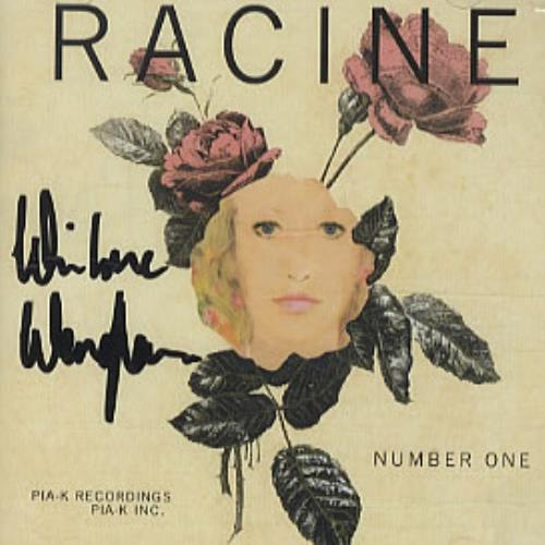 Racine Number One - Autographed CD album (CDLP) UK RCVCDNU327070