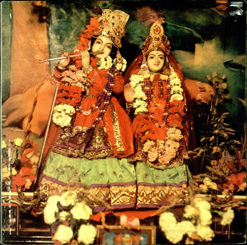 Radha Krishna Temple The Radha Krsna Temple + Insert - EX vinyl LP album (LP record) UK RKTLPTH176194