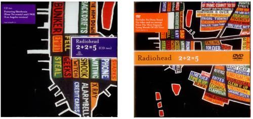 Radiohead 2 + 2 = 5 (Two) 3-disc CD/DVD Set UK R-H3DTW293343