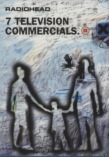 Radiohead 7 Television Commercials DVD UK R-HDDTE252679